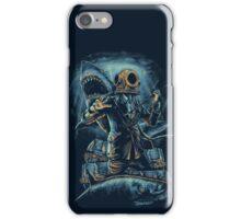 Deep Sea, Shark & Diver iPhone Case/Skin