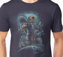 Deep Sea, Shark & Diver Unisex T-Shirt