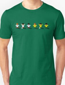 England vs Australia 2016 - Sensible World Of Soccer Sprites Unisex T-Shirt