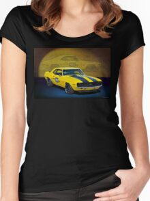 Racing Camaro Women's Fitted Scoop T-Shirt