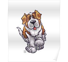 Animal Parade St. Bernard Poster