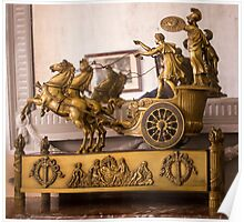 Golden Carriage - Object Photography Poster