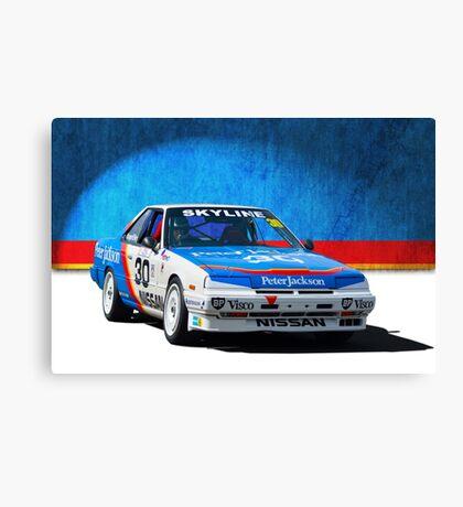 Peter Jackson Skyline Canvas Print