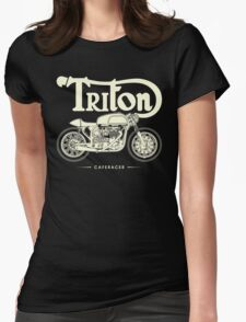 Caferacer Womens Fitted T-Shirt