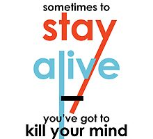 Kill Your Mind by Kate Foye