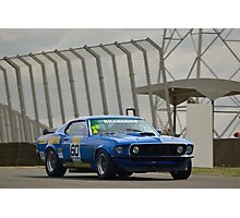 Tilley Racing Mustang Photographic Print