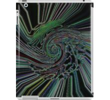 Neon Cyclone by Riptider Red iPad Case/Skin