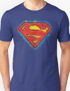 Superhero Spray Paint - Superman  T-Shirt