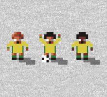 Australia 2016 - Sensible World Of Soccer Sprites One Piece - Long Sleeve