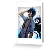 Rin Okumura Greeting Card