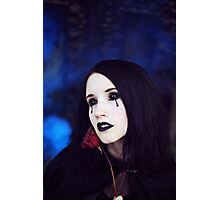 Gothic Tears Photographic Print