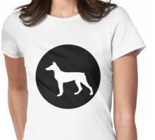 Doberman Pinscher Womens Fitted T-Shirt