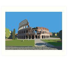 Colosseum, Rome Art Print