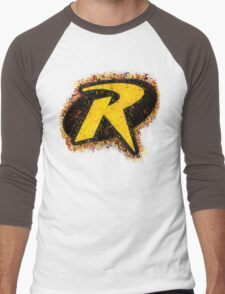 Superhero Spray Paint - Robin Men's Baseball ¾ T-Shirt