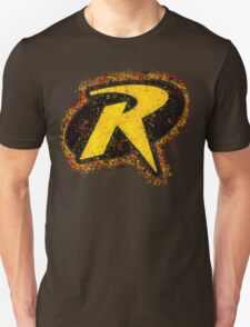 Superhero Spray Paint - Robin Unisex T-Shirt