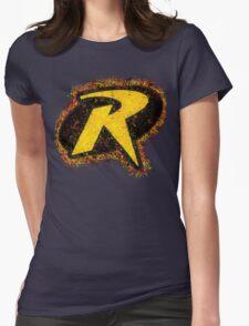 Superhero Spray Paint - Robin Womens Fitted T-Shirt