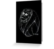 Coco-monkey Greeting Card