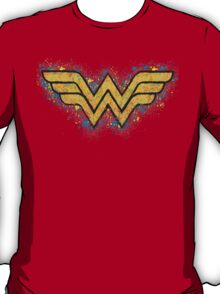 Superhero Spray Paint - Wonder Woman T-Shirt