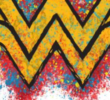 Superhero Spray Paint - Wonder Woman Sticker