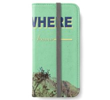 Somewhere only we know. . . iPhone Wallet/Case/Skin