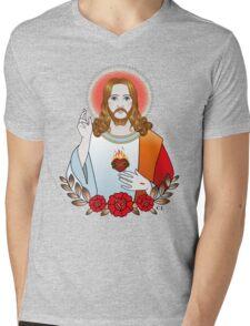 Jesus Christ Mens V-Neck T-Shirt