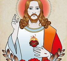 Jesus Christ by Cale Lobba