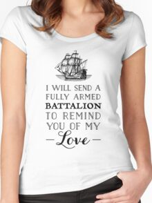 A Fully Armed Battalion  Women's Fitted Scoop T-Shirt