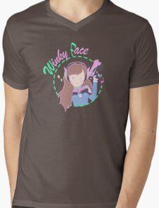 Wink Mens V-Neck T-Shirt