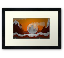 DWO Minecraft - Gallifrey Framed Print