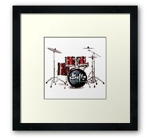Buffy the Vampire Slayer Drums Framed Print