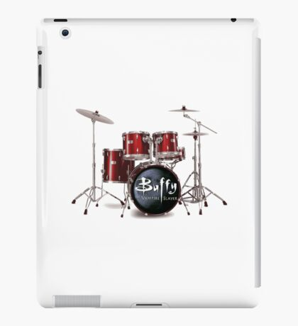Buffy the Vampire Slayer Drums iPad Case/Skin