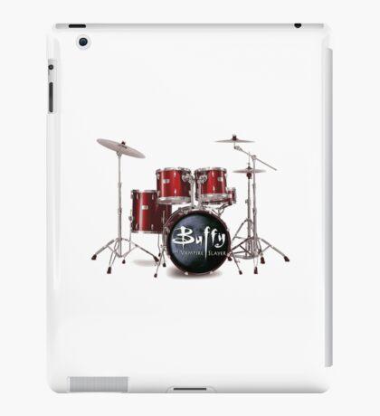 Buffy the Vampire Slayer Drums iPad Case/Skin