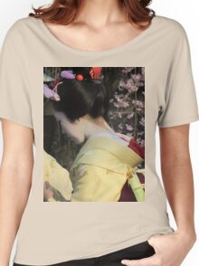 Maiko (Geisha apprentice), Kyoto Women's Relaxed Fit T-Shirt