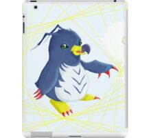 Penguinmon in the Data Stream iPad Case/Skin