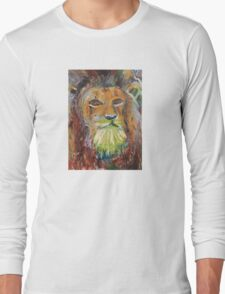 The Lion of the tribe of Judah Long Sleeve T-Shirt