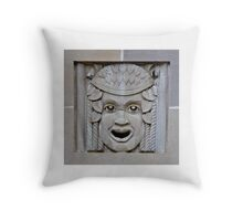 Say Ahhh1 Square Throw Pillow
