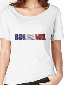 Bordeaux. Women's Relaxed Fit T-Shirt