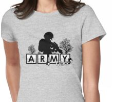 Army Chick Womens Fitted T-Shirt