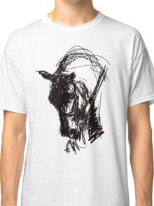 Dressage Horse Drawing  Classic T-Shirt