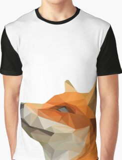 Poly Red Fox Graphic T-Shirt