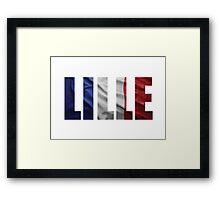 Lille. Framed Print
