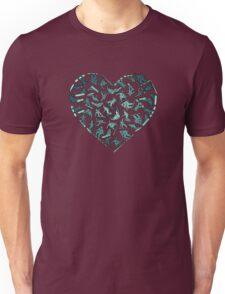 In Love With Snowboarding (dark) Unisex T-Shirt