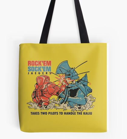 ROCK 'EM, SOCK 'EM JAEGERS Tote Bag