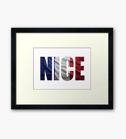 Nice Framed Print