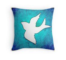 Just a bird. Throw Pillow