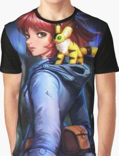 Nausicaa and teto Graphic T-Shirt