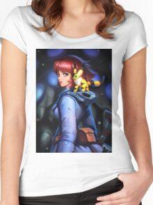 Nausicaa and teto Women's Fitted Scoop T-Shirt