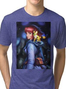 Nausicaa and teto Tri-blend T-Shirt