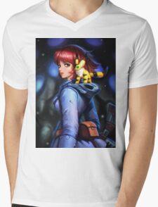 Nausicaa and teto Mens V-Neck T-Shirt