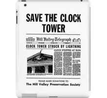 Save the Clocktower iPad Case/Skin